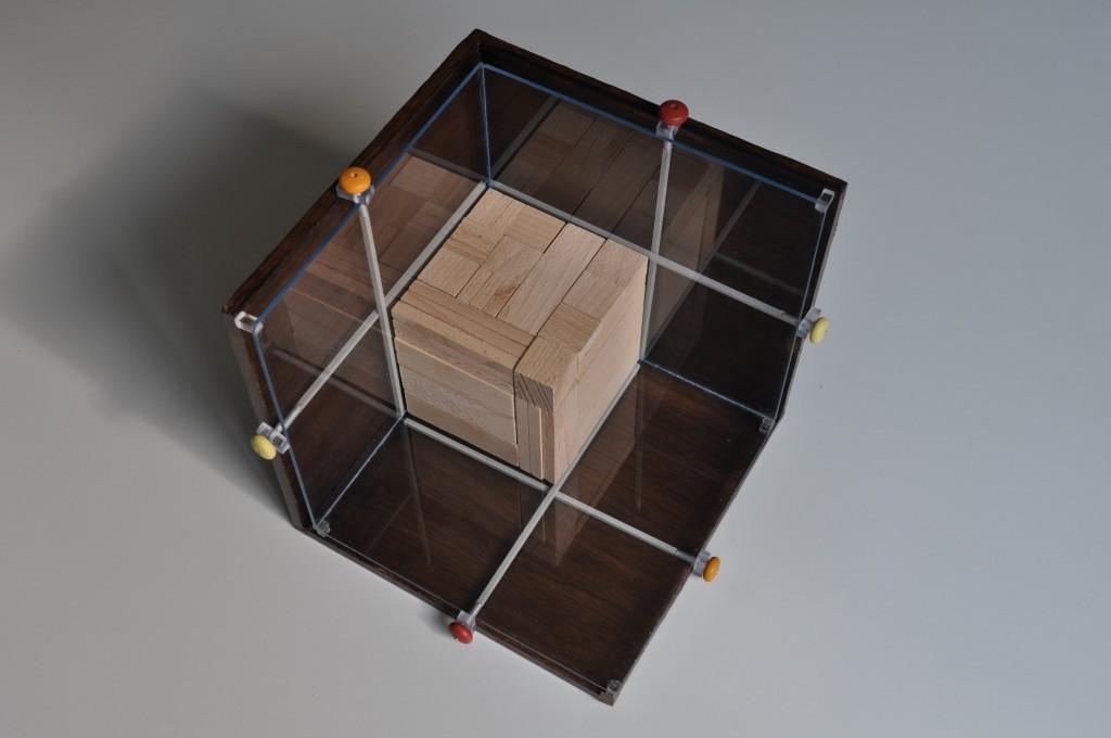 3D puzzelkast